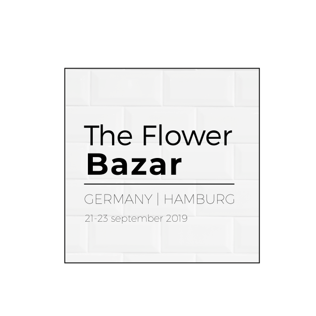 The Flower Bazar 21. - 23.09.2019